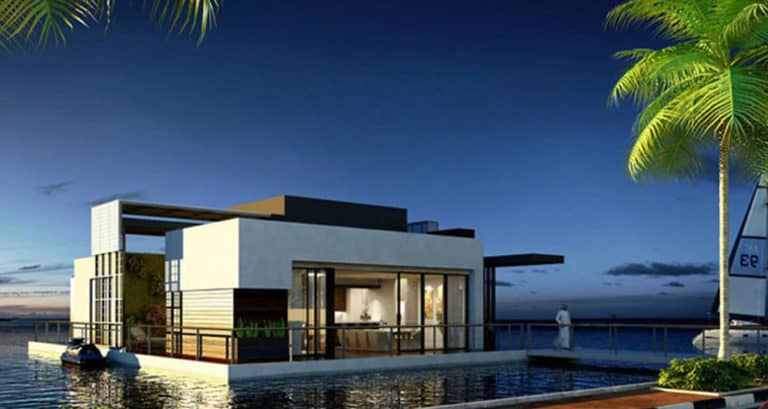 What We Do Best: Floating Villa, Abu Dhabi