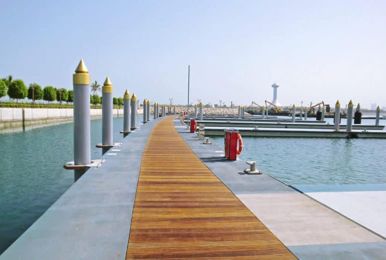 What We Do Best: Floating Marina