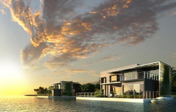 Floating systems: Floating Villa – Abu Dhabi